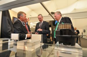 US Ambassador to Germany visits Melling booth at IZB Show