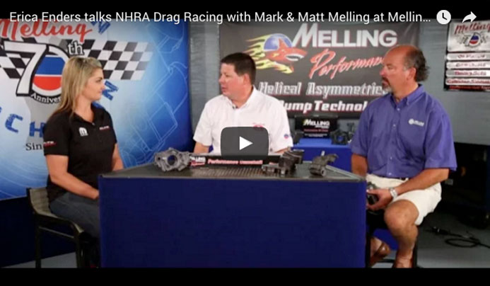Erica Enders Drag Racing Career - Melling Performance