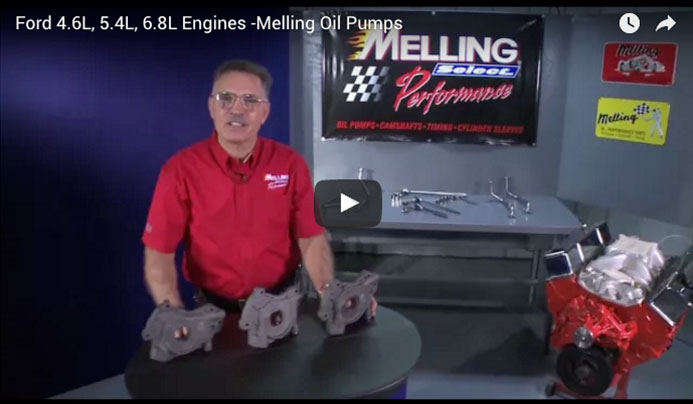 Ford 4.6L, 5.4L, 6.8L Engines -Melling Oil Pumps