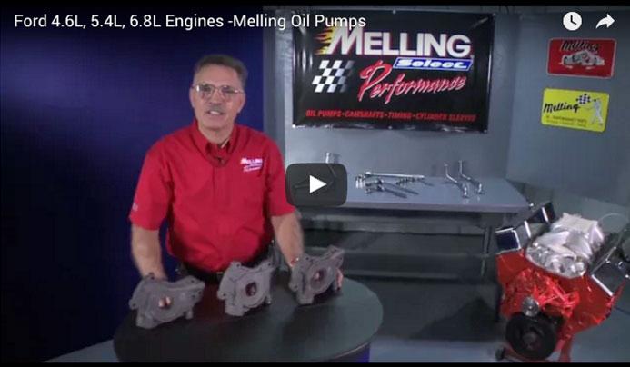 Ford 4.6L, 5.4L, 6.8L Engines -Melling Oil Pumps