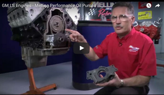 GM LS Engines - Melling Performance Oil Pumps