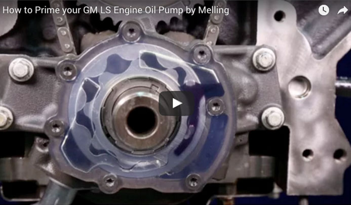 How to Prime your GM LS Engine Oil Pump by Melling
