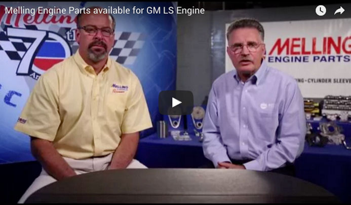 Are you building a GM LS Engine? Watch this video to see ALL of the parts that Melling has available for you!