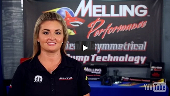 Melling Performance partners with NHRA Pro Stock Champ Erica Enders