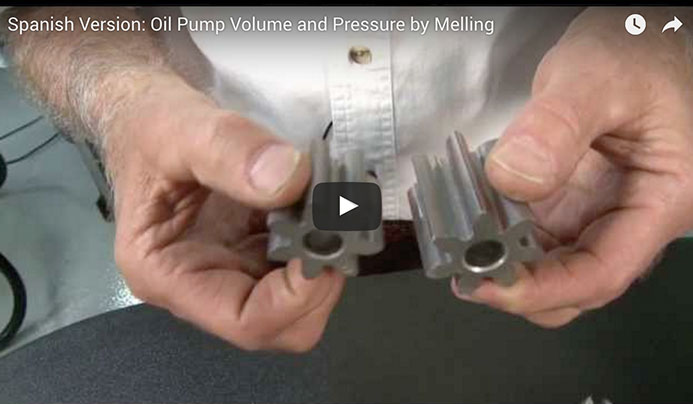 Spanish Version: Oil Pump Volume and Pressure by Melling