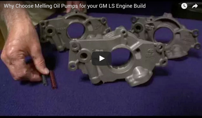Why Choose Melling Oil Pumps for your GM LS Engine Build