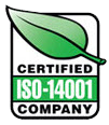 certified ISO-14001 company