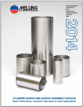 2014 Melling Cylinder Sleeves Catalog