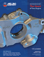 2014 Melling Engine Parts catalog cover