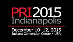 Join us at the PRI Show - Dec 10-12th