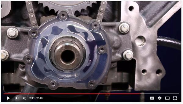 pump priming screen shot