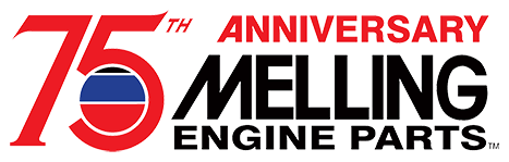 Melling 75th Anniversary Logo
